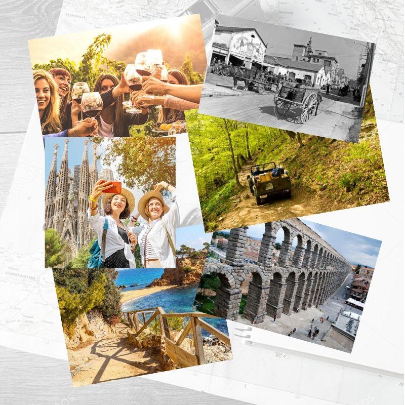 Collage de actividades